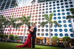 Brickell Engagement Session Miami, Florida Aricelly and Angelo engagement photography session in Brickell Miami, Florida at 600 Biscayne Blvd and Tamarina Restaurant by Alfredo Valentine Photographer owner of Couture Bridal Photography
