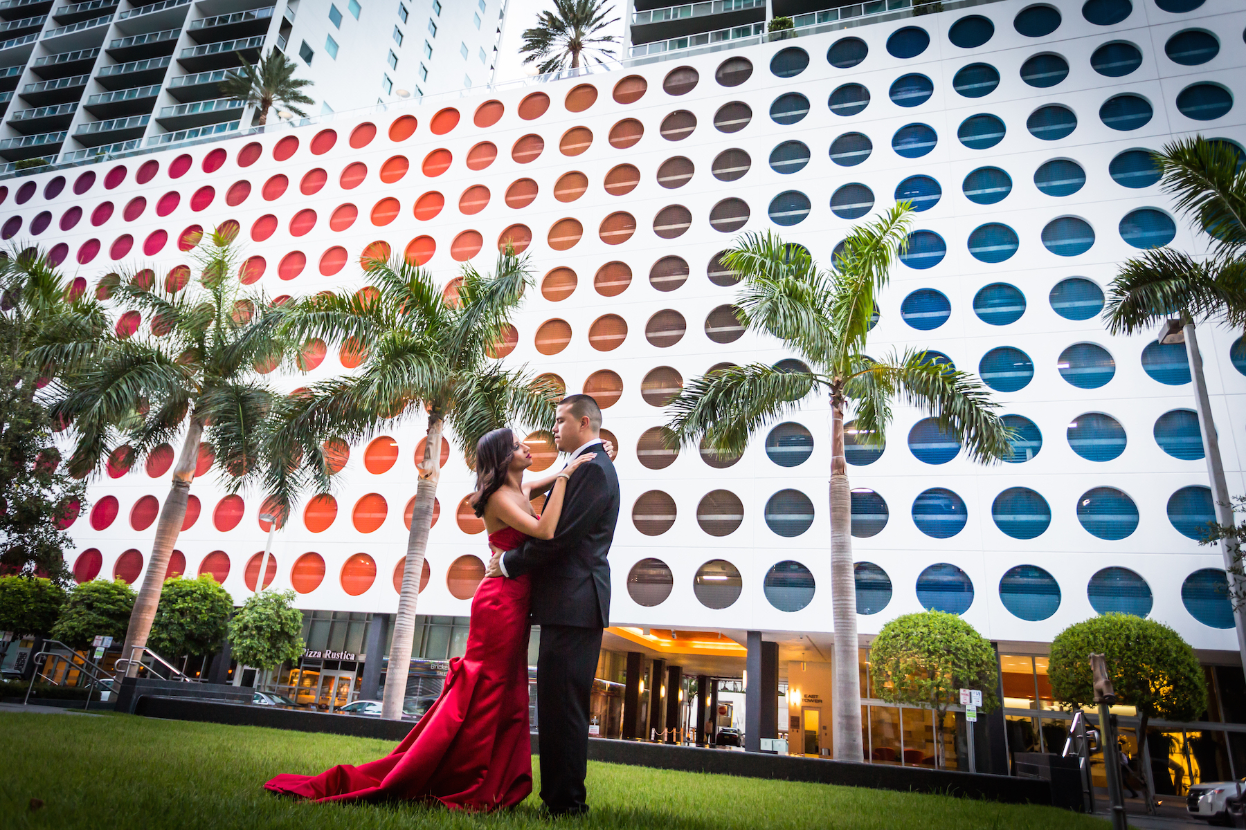 brickell engagement session couture bridal photography