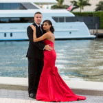 Brickell Engagement Session Miami, Florida with Aricelly and Angelo engagement photography session in Brickell Miami, Florida at 600 Biscayne Blvd and Tamarina Restaurant by Alfredo Valentine Photographer owner of Couture Bridal Photography