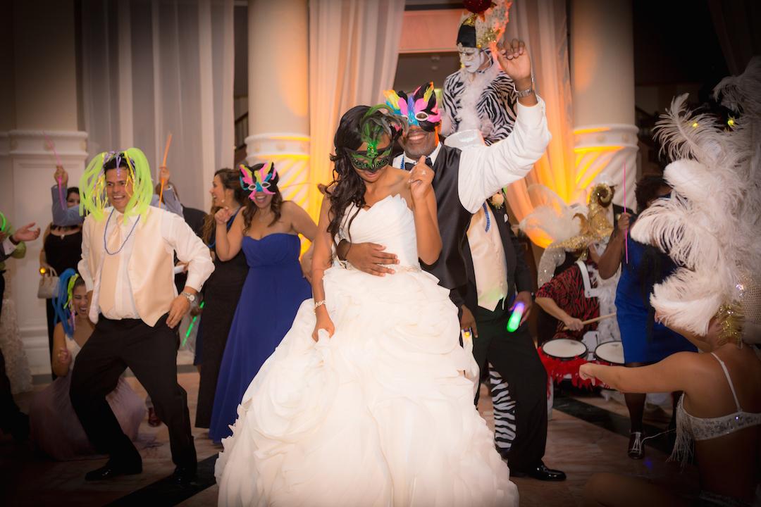 Westin Colonnade Coral Gables Wedding Reception