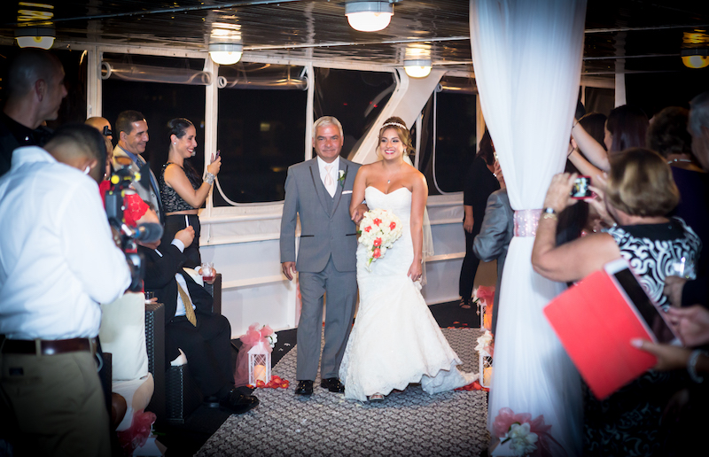 Couture Bridal Photography offers elegant Wedding photography in Miami, Palm Beach, and Fort Lauderdale. Elegant wedding photography of bride walking down the isle